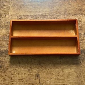 Wooden drawer organizer